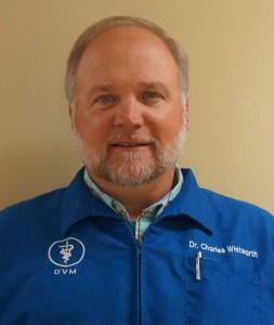 Whitworth vereerinarian Dr. Charles Whitworth